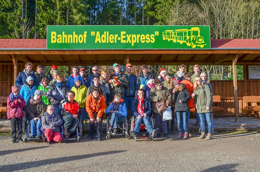 Ausflug zum Nationalpark Eifel.
